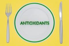 ANTI-OXYDEREND - gezondheidsconcept royalty-vrije illustratie
