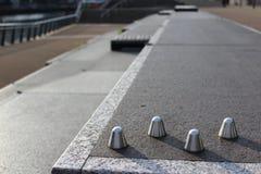 Anti parafusos prisioneiros Skateboarding Foto de Stock Royalty Free