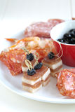 Anti pasti plate Royalty Free Stock Photo