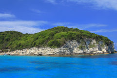 Anti Paxos island Greece Stock Image