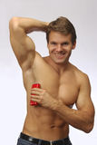 Anti-perspirant deoderant for athlete Stock Images