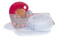 Anti pilule de bébé Photo stock