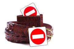 Anti produits animaux Image stock