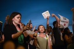 Anti protestation de cour de dessus du ` s de la Roumanie, Bucarest, Roumanie - 30 mai 20 images stock