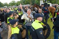 Anti protestation de l'Islam Photographie stock libre de droits