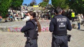 Anti-quarantine protest, Berlin, Germany