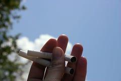 anti rökning Royaltyfri Foto