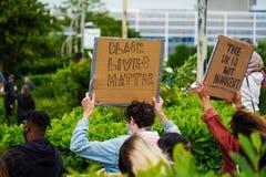 Anti racism rally in milton Keynes