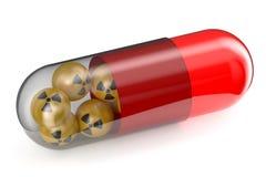 Anti-Radiation Drug concept Stock Image