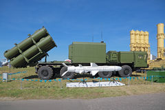 Anti-ship missile complex BAL Stock Photo
