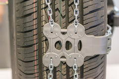 Anti-skid chains Royalty Free Stock Image