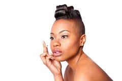 Anti--skrynkla skincarekräm arkivfoton