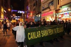 Anti İslamfilm för protest Royaltyfri Fotografi