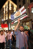 Anti İslamfilm för protest Arkivfoton