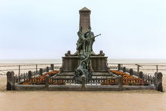 Anti Slavery monument in Blankenberge, Belgium. Royalty Free Stock Photo