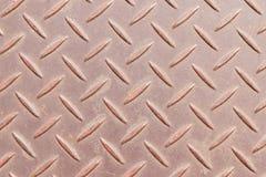 Anti-slip floor texture or metal non-slip floor texture. Stock Image