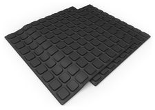 Anti slip rubber mat Royalty Free Stock Photo