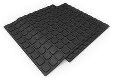 Anti slip rubber mat Royalty Free Stock Photo