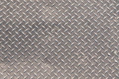Anti-Slip Steel Surface. Steel flooring with an anti-slip surface Royalty Free Stock Photography