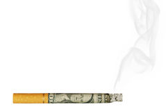 Anti-Smoking Concept Royalty Free Stock Photography