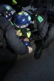 anti snittlondon protest royaltyfri foto