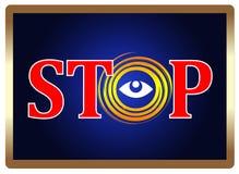 Anti Spying Concept Stock Photo