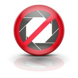 Anti spyware icon symbol vector illustration Stock Image