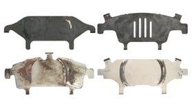 Anti squeal shim for disc brake pad royalty free stock photo