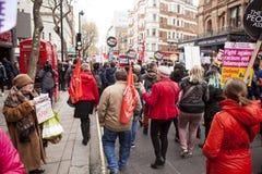 Anti--stränghet mars Royaltyfria Foton