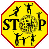 Anti Stress Concept Royalty Free Stock Image
