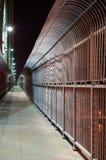 Anti-suicide fence 1. stock photo