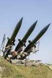 Anti système de missiles d'aéronefs Photo stock