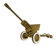Anti-tank cannon Royalty Free Stock Images
