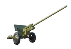 Anti-tank cannon Royalty Free Stock Photography