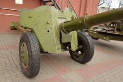 Anti-tank gun of the Second World War. Royalty Free Stock Photography