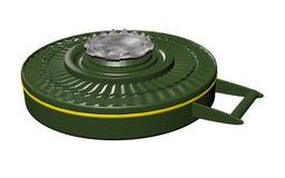 Anti-tank mine Royalty Free Stock Image