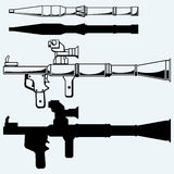 Anti-tank rocket propelled grenade launcher - RPG 7 Royalty Free Stock Photography