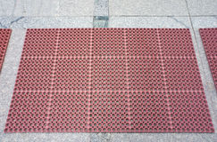 Anti tapis de glissement image libre de droits