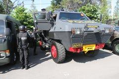 Anti-Teror-Polizei lizenzfreie stockfotos