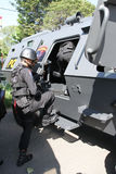 Anti-Teror-Polizei lizenzfreies stockfoto