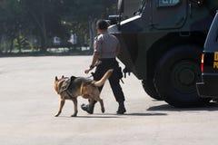 Anti-Teror-Polizei stockfotografie