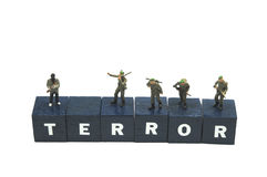 Anti-terror unit Royalty Free Stock Image