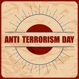 Anti Terrorism Day Royalty Free Stock Photos