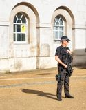 Anti-terrorist police London Stock Photography