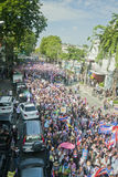 Anti - Thai government protest  Stock Images