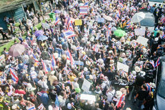 Anti - Thai government protest  Stock Photography