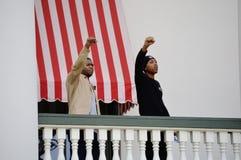 Anti-troefprotest Tallahassee, Florida Stock Foto