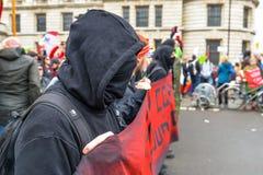 Anti Trump Protest - London stock photo