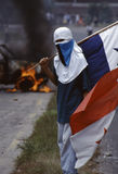 Anti-US Demo Panama City 1996 Lizenzfreies Stockfoto