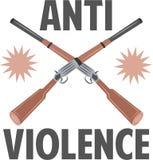 Anti Violence Royalty Free Stock Photos